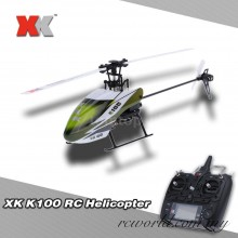 XK Falcom K100 6CH 3D 6G System Brushless Motor RC Helicopter