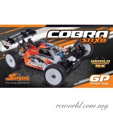 Serpent 1/8 Cobra SRX8 GP Buggy (#600017) Gas Cars Off-Road