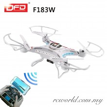 DFD F183W Wifi 4CH 6 Axis Gyro 2MP Camera RC Drone