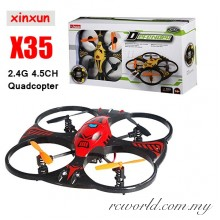 XinXun X35 Defender Glider 2.4GHz 4.5CH UFO Shaped 3-Axis RC Quadcopter