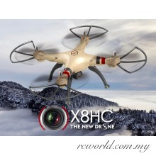 Syma X8HC 2MP HD Camera 2.4G 4CH 6 Axis Headless RC Quadcopter