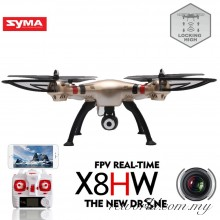 Syma X8HW WIFI FPV Real-time 2.4Ghz 6 Axis Gyro Headless Quadcopter