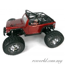 KAISER eMTA Monster Truck (Black/Red)