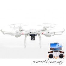 MJX X101 2.4G RC Drone 6 Axis Gyro Quadcopter With Gimbal + 720 HD FPV Real Time Camera