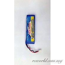Thunder Tiger 7.2v 1100mah NiMh Battery Pack 2987
