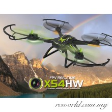 Syma X54HW WiFi FPV With HD Camera 2.4G 4CH 6 Axis RC Quadcopter