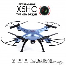 Syma X5HC With 2MP HD Camera 2.4G 4CH 6Axis Headless Mode RC Quadcopter