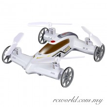 Syma X9S 2.4G 4CH 6-Axis Gyro RC Flying Car with 3D-flip Function