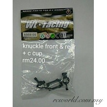 WL Racing A959-05 Knuckle Front & Rear + C Cup