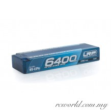 LRP P5-HV TC LCG Stock Spec GRAPHENE 6400mAh Hardcase Battery - 7.6V LiPo - 120C/60C (For Drive)