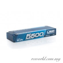 LRP P5-HV TC Ultra LCG GRAPHENE 5500mAh Hardcase Battery - 7.6V LiPo - 120C/60C (For Drive)