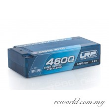 LRP P5-HV Light Shorty Stock Spec GRAPHENE 4600mAh Hardcase Battery - 7.6V LiPo - 120C/60C (For Drive)
