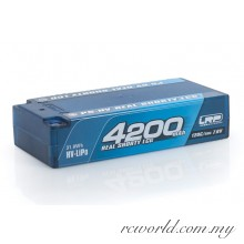 LRP P5-HV Real Shorty LCG GRAPHENE 4200mAh Hardcase Battery - 7.6V LiPo - 120C/60C (For Drive)
