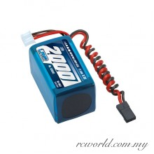 LRP LiFePo 2000 RX-Pack 2/3A Hump - RX-only - 6.6V (For Reciever)