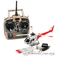 WL Toys V931 AS350 2.4G 6CH Brushless Scale Flybarless RC Helicopter