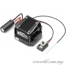 SANWA SV-Plus Type-D Unified Sensored Brushless ESC Built-In RX-472 Receiver (#107A41284A)