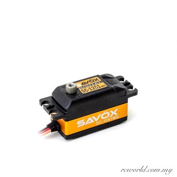 "Savox SC-1251MG Low Profile Digital ""High Speed"" Metal Gear Servo"