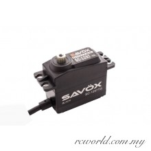 "Savox SC-1257TG Black Edition ""Super Speed"" Titanium Gear Servo"