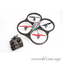 WL Toys V656 5.8G FPV 6 Axis RC Quadcopter With 1080p HD Camera Monitor