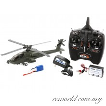 Blade Micro AH-64 Apache Intermediate Collective-Pitch Helicopter RTF