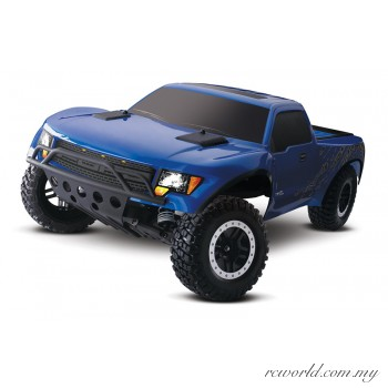 Traxxas 1/10 FORD F-150 SVT Raptor 2WD Replica with OBA (Model: 58064-2)