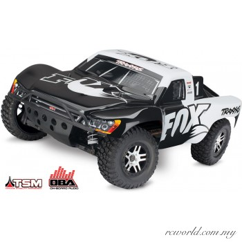 Traxxas 1/10 Slash with TSM & OBA 4X4 4WD Brushless Short Course Truck (Model: 68086-21)