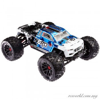 ARRMA 1/8 Nero 6S BLX Brushless RTR Monster Truck w/Diff Brain (Blue/Black)