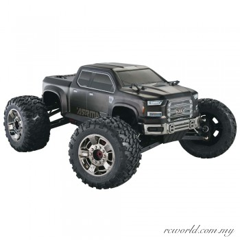ARRMA 1/8 Nero Big Rock 6S BLX Brushless RTR Monster Truck w/Diff Brain (Black)