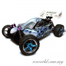 HSP 1/10 XSTR Electric 4WD 2.4Ghz RTR Off-Road RC Buggy (Model NO:94107)