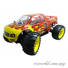 HSP 1/10 Tyrannosaurus RTR Nitro Power 4WD 2.4Ghz RC Monster Truck (Model NO:94108)