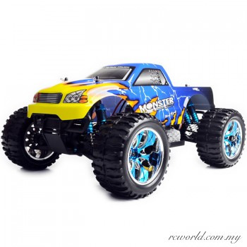 HSP 1/10 Bigfoot Electric 4WD 2.4G RTR Off-Road RC Truck (Model NO:94111)