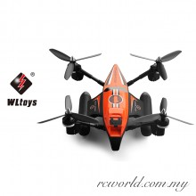 WL Tech Q353 Triphibian Air Land Sea Mode 3 in 1 Headless 2.4G RC Quadcopter