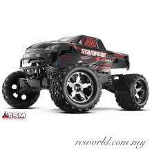 Traxxas 1/10 Stampede 4x4 VXL 60+mph TSM 4WD Brushless Electric Mosnter Truck (Model: 67086-4)