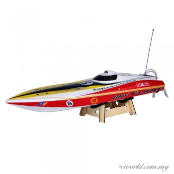 VANTEX Flame Racing Boat 1300BP 60km/h High Speed Electric