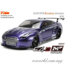 Team Magic 1/10 E4D-MF R35 Electric Brushless 4WD RC Drift Car RTR (TM503018-R35)