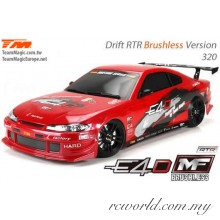 Team Magic 1/10 E4D-MF S15 Electric Brushless 4WD RC Drift Car RTR (TM503018-S15)