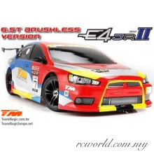 Team Magic 1/10 E4JR II EVX Electric 4WD Waterproof Brushless RC Touring Car RTR (TM507006-EVX)