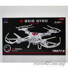 YR577-4 Mini 4 Channels ABS 2.4G Quadcopter with Camera