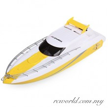 Happycow 777 - 332 2.4G 4CH Remote Control Boat Dual Propellers High Speed Cruise Ship Yacht Model (YELLOW/BLACK)