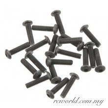 PD0669 Button Head Machined Screws 3x12mm (20) MT4-G3
