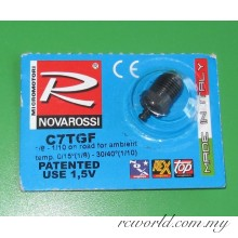 "Novarossi C7TGF Conical ""Turbo F"" Very Cold Glowplug (5)"