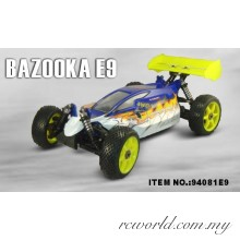 HSP 1/8TH Scale Brushless Electric Power Off-Road Buggy (Model No.:94081E9)