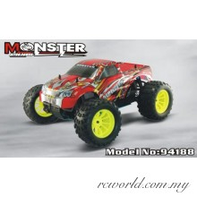 1/10th Scale Nitro Off Road Monster Truck-Pivot Ball Suspension (Model NO:94188)