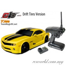 1/10 Nitro - 4WD Drift - RTR - Pull Start - Team Magic G4D CMR #TM502090