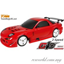 TM502091A-RX7 1/10 Nitro - 4WD Touring - RTR - Pull Start - 2-Speed - Team Magic G4D TC RX7