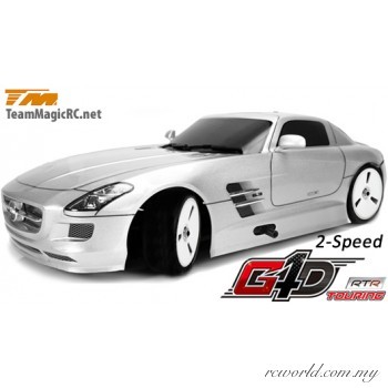 TM502091A-SLS 1/10 Nitro - 4WD Touring - RTR - Pull Start - 2-Speed - Team Magic G4D TC SLS