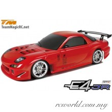 TM503005-RX7 1/10 E4JR RX7 Touring Car RTR