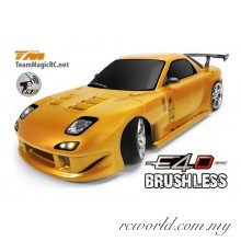 Team Magic 1/10 E4D RX7 Electric Brushless RC Drift Car RTR (TM503012-RX7)