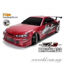 Team Magic 1/10 E4D S15 Electric Brushless RC Drift Car RTR (TM503012-S15)