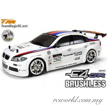 Team Magic 1/10 E4JR 320 Electric Brushless 4WD RC Touring Car RTR (TM503014-320)